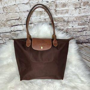 Longchamp small brown bag